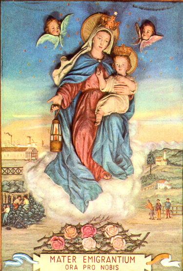 Virgen Madre de los Migrantes